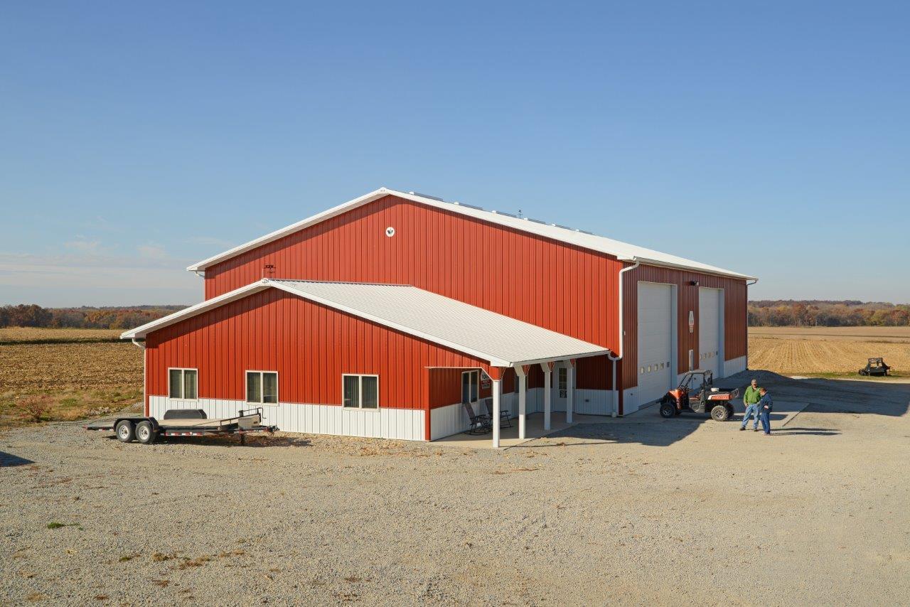 sumner ag storage pole buildings custom homes meyer ag storage shop and office